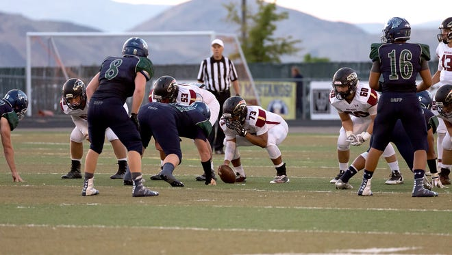 Damonte Ranch beat Northgate, 46-16 Friday at Damonte.