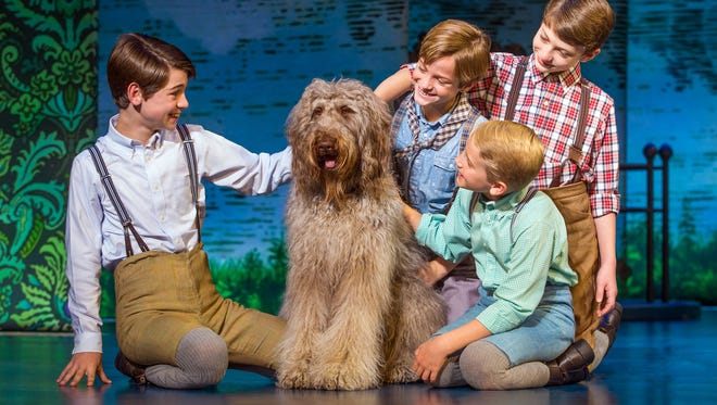 """""""Finding Neverland"""" centers on British novelist-playwright J.M. Barrie and how his platonic relationship with an English widow and her four sons inspired the creation of his beloved play """"Peter Pan."""""""