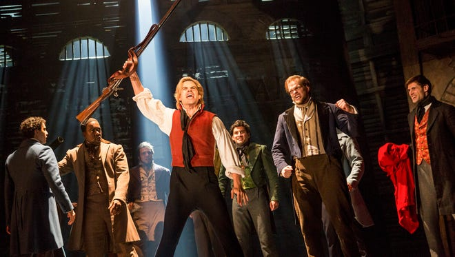 """The Detroit-bound revival of """"Les Miserables"""" launched on Broadway in 2014 and ran 2 1/2 years."""