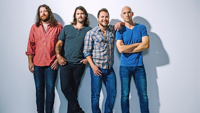 """The Eli Young Band was nominated by the Academy of Country Music for Vocal Group of the Year, though Little Big Town won the category at the recent ACM Awards April 2. The group recently released the single """"Skin & Bones"""" from its soon-to-be released album."""