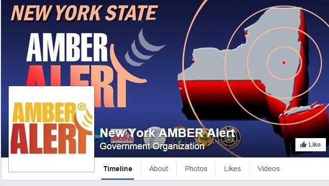 New York's Amber Alert logo