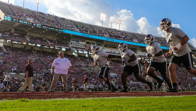 ESPN will broadcast Saturday's game at Davis Wade Stadium between Mississippi State and Auburn.
