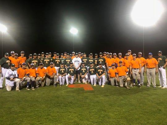 Sandra Day O'Connor baseball players show solidarity