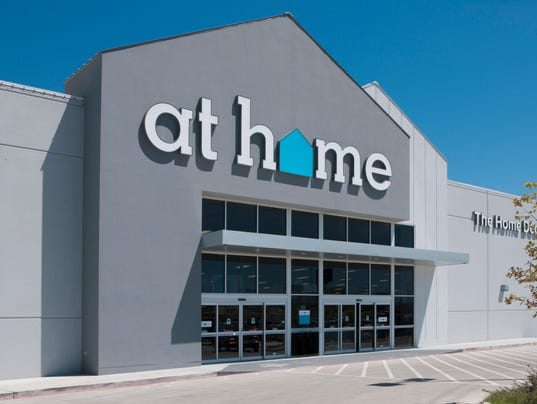 . Former Sears to become At Home store