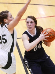 Jessica Noll (24) and West York knocked off Berks Catholic on Saturday to reach the District 3 Class AAA semifinals, where they will meet YAIAA foe Susquehannock. (Daily Record/Sunday News -- file)