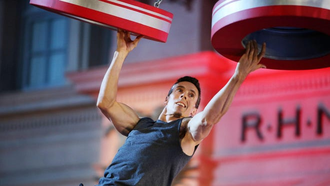 """Travis Rosen is a Franklin father of three and perennial competitor on """"American Ninja Warrior."""" He makes his sixth appearance in the competition this season, showcasing his athletic ability in the qualifiers in Orlando, Fla. The show featuring him and several other Nashville-area hopefuls will air Monday on NBC."""