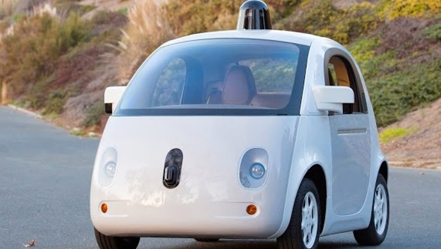 nerdy google unveils new self driving car prototype. Black Bedroom Furniture Sets. Home Design Ideas