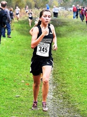 Senior Rachel O'Rourke's 21st place finish gave Milford
