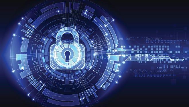Technology security illustration