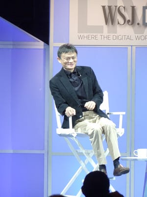 Alibaba Group chief Jack Ma at WSJDLive conference