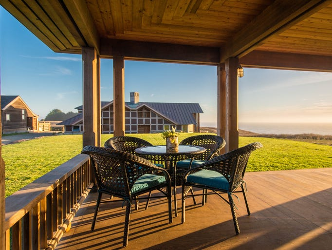The Inn at Newport Ranch, Fort Bragg: Views are the