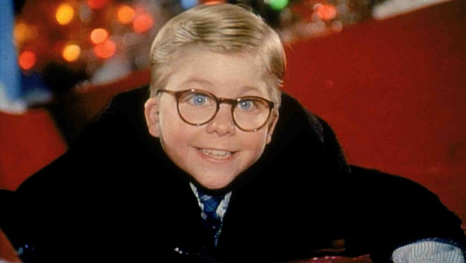 "The holiday classic ""A Christmas Story"" will be shown at 1 p.m. Friday as part of the Holiday Movies at the Plaza Theatre film series."