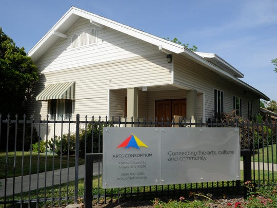 The Arts Consortium, located at 400 N. Church St., helps anchor an art district in Visalia along with nearby Arts Visalia, Garden Street Studio, Dance Arts, Sierra Performing Arts and the Visalia Lumberyard.TERESA DOUGLASS
