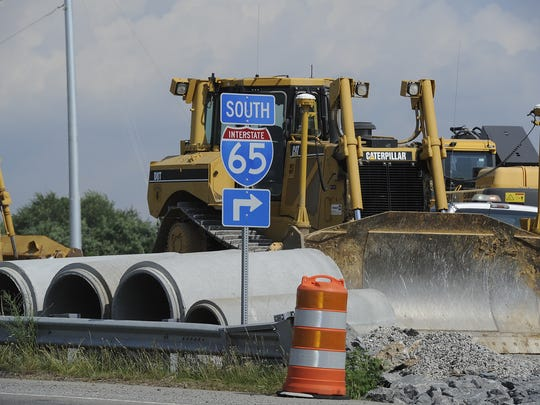 Construction on the $46.1 million Goose Creek Bypass exchange over Interstate 65 in Franklin is moving along. However, funding for such projects may run out shortly. Delays loom for 13 road construction projects across Tennessee unless Congress intervenes with an allocation to the federal Highway Trust Fund.