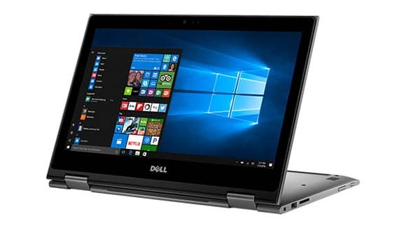 This Dell Inspiron isn't flashy, but it's very powerful and affordable, with a 2-in-1 hinge.