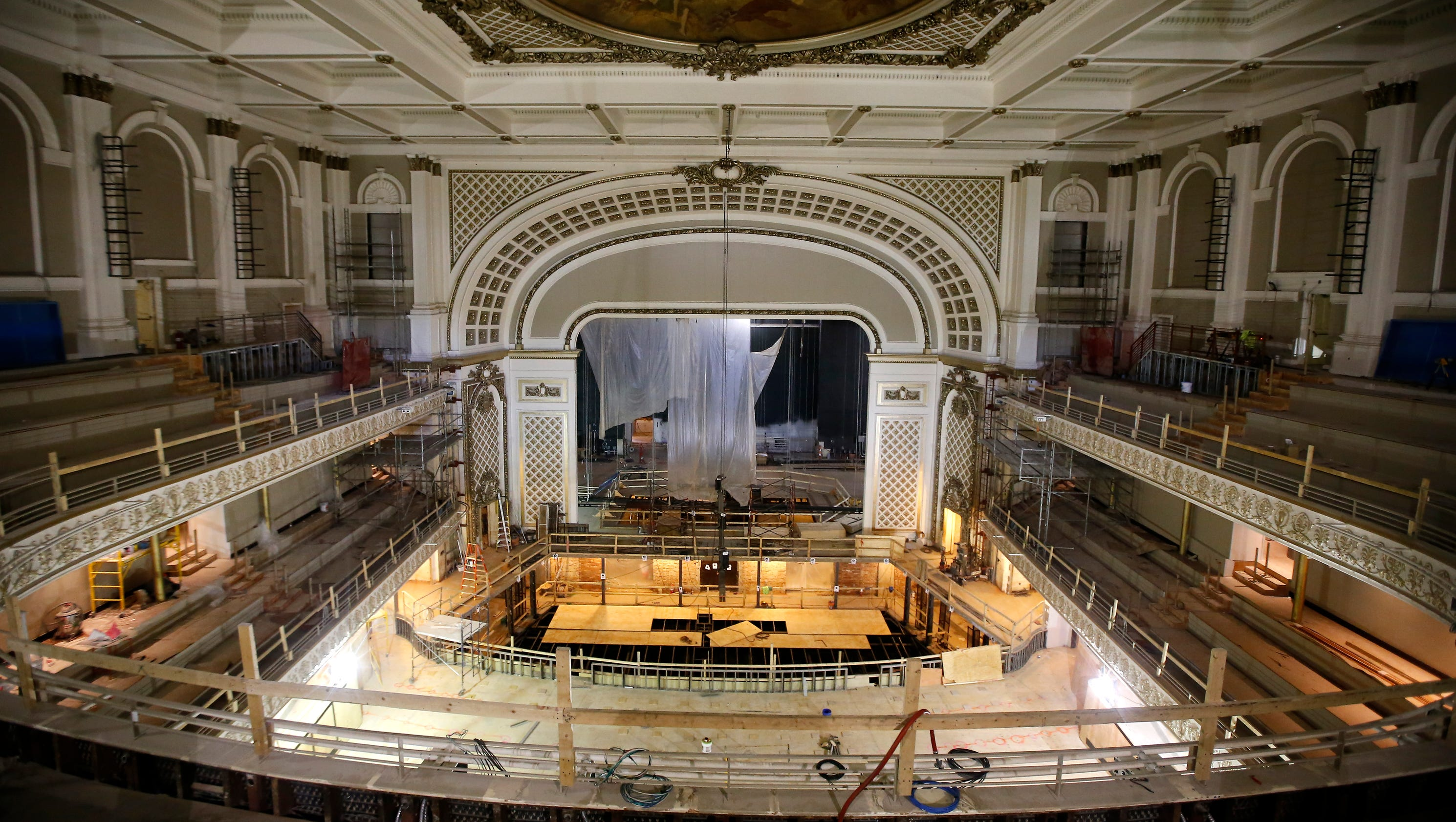 Music Hall Rehab Moves Into Finishing Touches