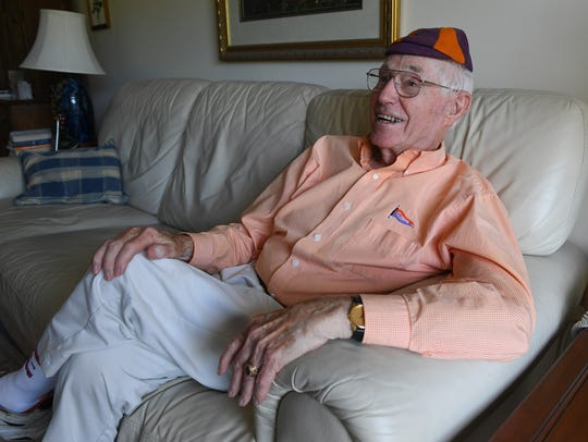 Eighty-seven-year-old Joe Tate, Clemson Class of 1951, will throw out the first pitch at the Tigers' home game against Western Carolina Wednesday night.