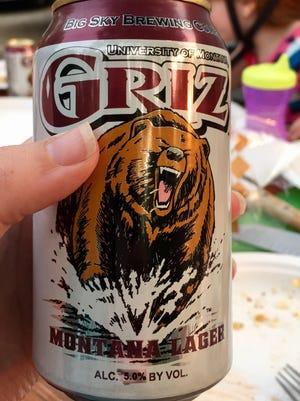 Big Sky Brewing Co.'s Griz Montana Lager
