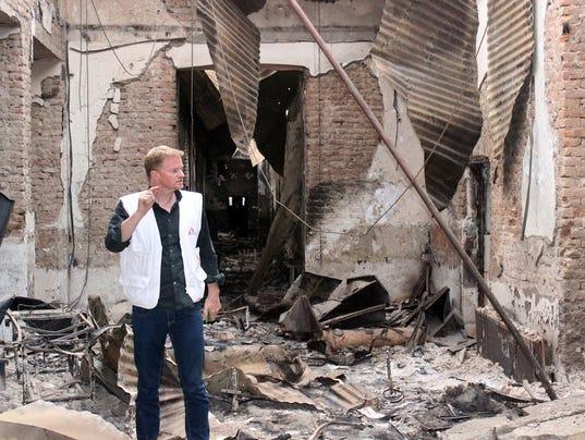 AP AFGHANISTAN BOMBED HOSPITAL I AFG