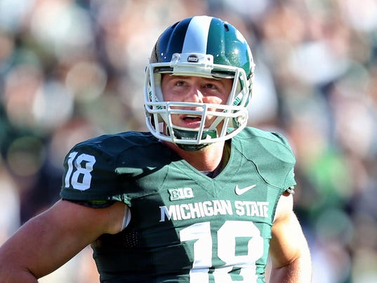 USP NCAA FOOTBALL: MICHIGAN AT MICHIGAN STATE S FBC USA MI