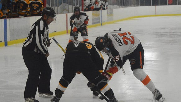 Mamaroneck will have another test when it hosts Rye Town/Harrison on Saturday at Hommocks Park Ice Rink.