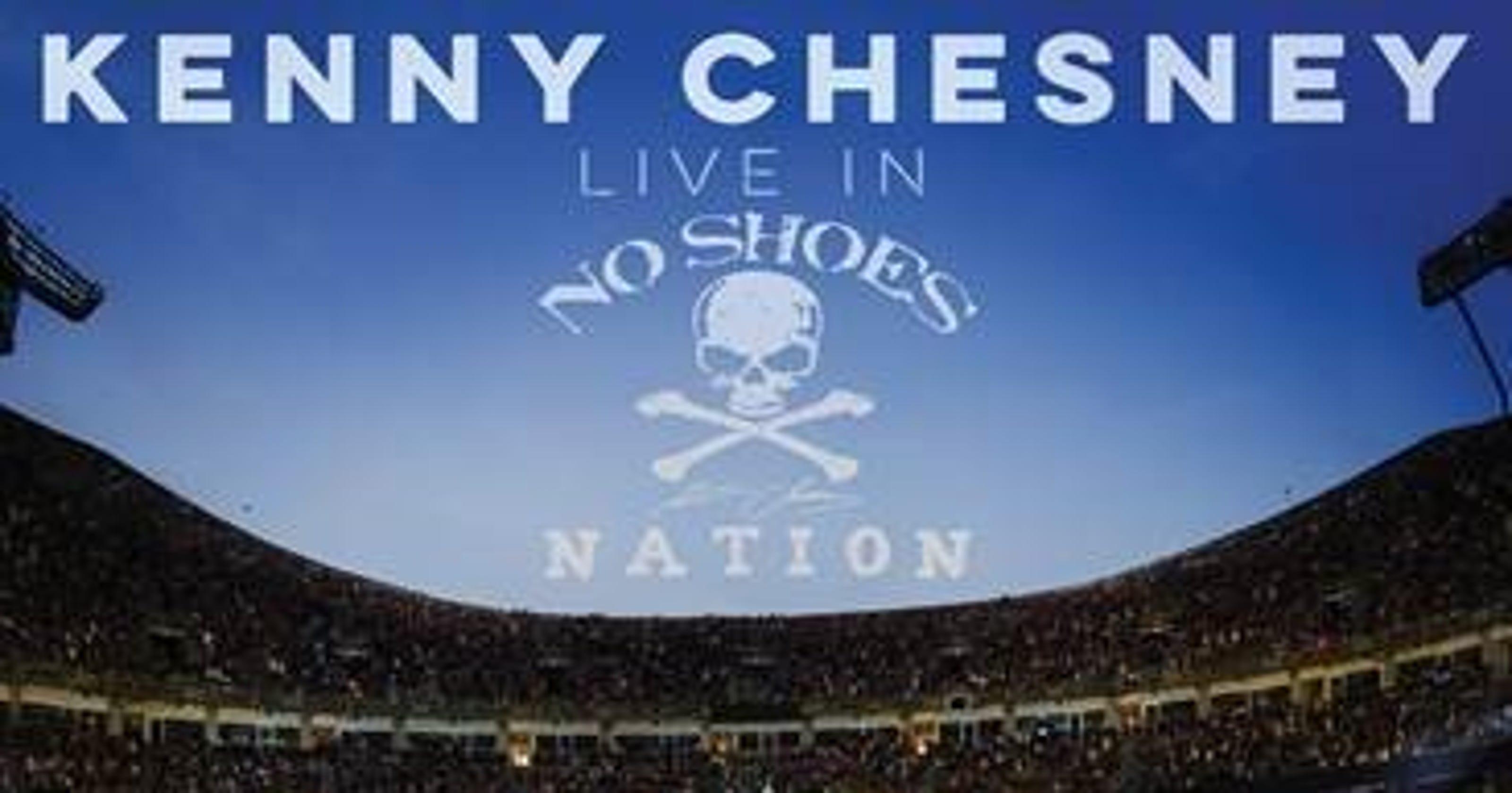 Lambeau Field Makes The Cut On Kenny Chesneys New Live Album