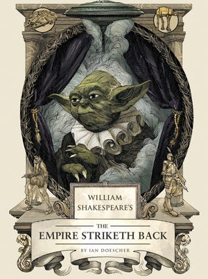 Here's your first look at the cover for 'William Shakespeare's The Empire Striketh Back.'