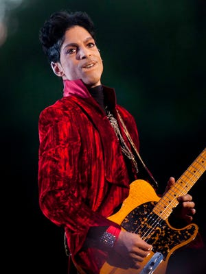 Prince plays at the Sziget Festival on Aug. 9, 2011, in Budapest, Hungary.