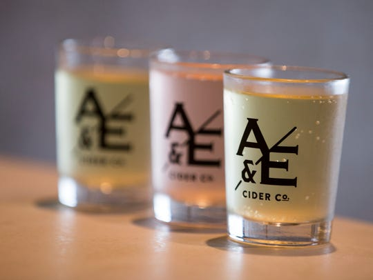 A four-course brunch paired with Ash & Elm ciders is scheduled March 4 at Ash & Elm Cider Co., 2104 E. Washington St.