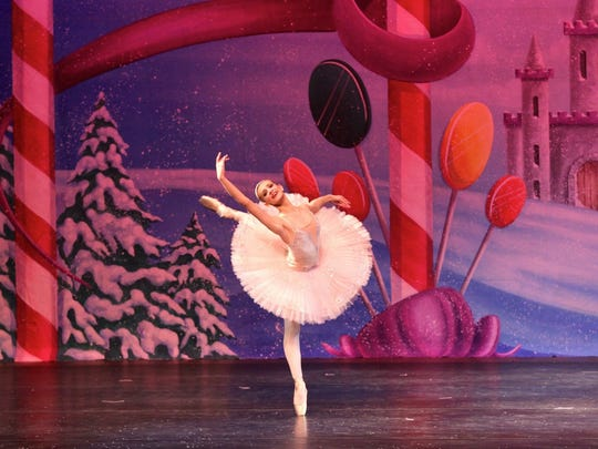 South Jersey Ballet Theatre presents a free preview performance of 'The Nutcracker' Sunday at 1:30 p.m. at the Moorestown Mall in front of Sears.