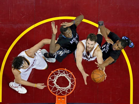 Kevin Love, Thaddeus Young, Gorgui Dieng, Anderson Varejao