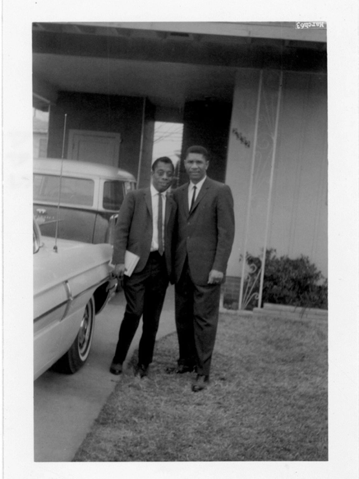 5. James Baldwin and Medgar Evers in 'I Am Not Your
