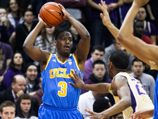 Jordan Adams, UCLA sophomore: The high-scoring shooting guard intially was going to return to school after averaging 17.4 points a game. The 6-5 natural wing could be a late first-rounder.