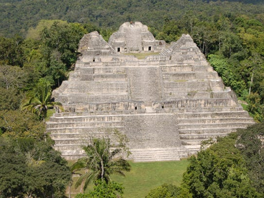 The Caracol Mayan ruins has been studied by UCF professors,