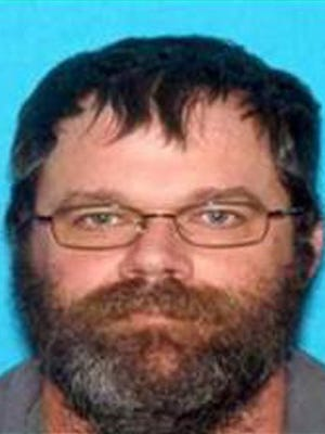 This undated image provided by the U.S. Marshals Service shows wanted sex offender Benjamin Shook, who is believed to be with Hayleigh Wilson, a 14-year-old girl from Surgoinsville, Tenn. Witnesses reported seeing Wilson with Shook on June 24 near a campground in Sugar Grove, Virginia. Marshals believe the girl met Shook online. Marshals in Tennessee also want Shook for failure to register as a sex offender. (U.S. Marshals Service Office of Public Affairs via AP)