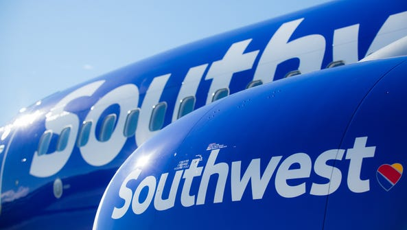 A file photo of a Southwest Airlines Boeing 737.