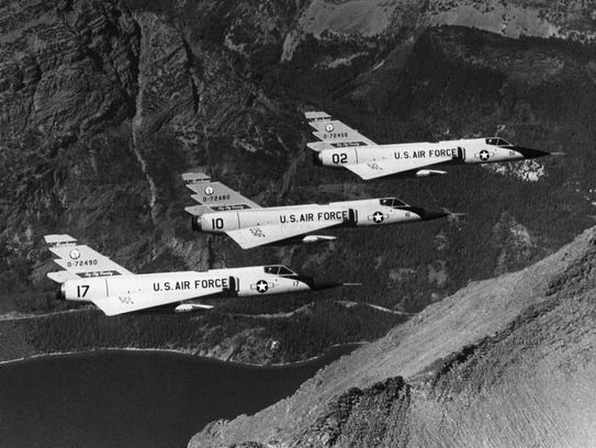 The F-106 Delta Dart was assigned to Montana Air National