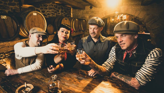 The German rockabilly outfit the Booze Bombs return to Crash Music in Aztec on Tuesday, Feb. 2.