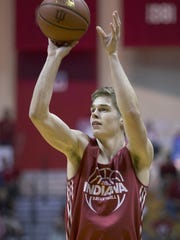 Grant Gelon transferred from IU's program this summer.