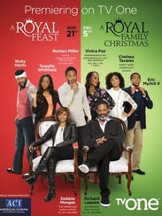 "A promo poster for two upcoming ""Royal Family"" TV films."