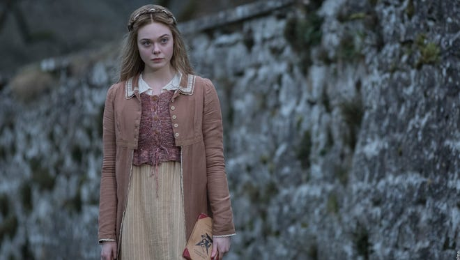 "Elle Fanning plays the young author ""Mary Shelley,"" who wrote the 1818 horror classic ""Frankenstein."""