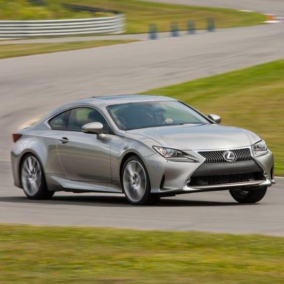 Lexus unveils RC coupe