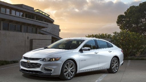 The Chevrolet Malibu hybrid will start at $28,645 when in goes on sale in the spring of 2016.