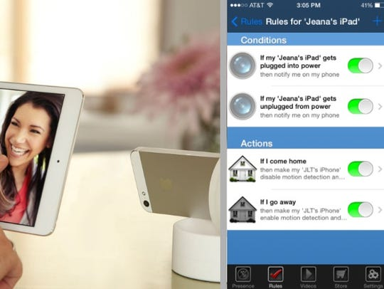 The free Presence app turns an old phone into a home