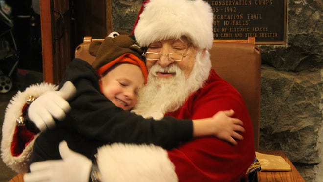 Sit with Santa at the 39th Annual Christmas Festival at Silver Falls State Park 11 a.m. to 4 p.m. Saturday, Dec. 10.