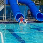 The Pine Island Community Pool is a 25-yard outdoor pool with six lanes.