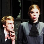 Jesse Kortus and Madeline Hiers in BPCC's Turn of the Screw.