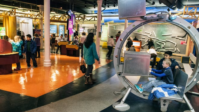 Random scenes from The Louisville Science Center (Photo by Marty Pearl, 2/28/14)