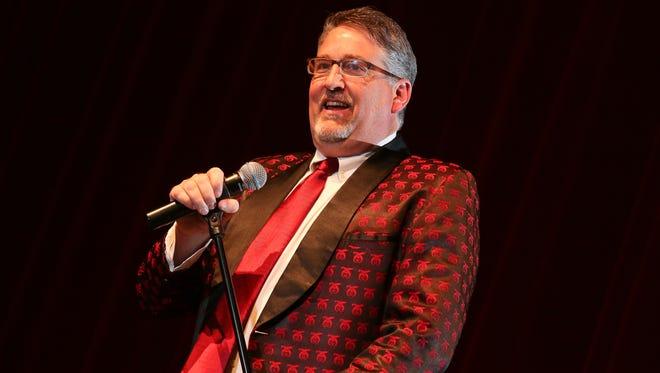 Comedian Pat Hazell.