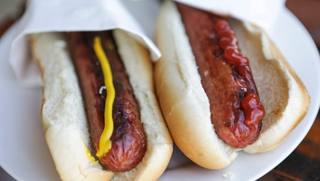 A state fair first, Kentucky Hemp Dogs contain hemp oil and beef from local farms.